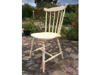 FARMHOUSE WOODEN CHAIR