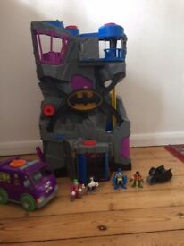 Imaginext DC Super Friends Batcave by Fisherprice