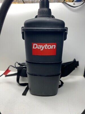 Dayton 4tr09a Dry Pick-up Back Pack Vacuum 4tr09 With Accessories