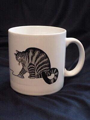 Vintage 1989 B Kliban Cat Playing w/Computer Mouse & Sleeping Coffee Mug NEW
