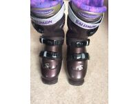 Salomon Optima Ladies Ski Boots, Size 25 (6/6.5)