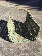 Vintage style tin vessel & open basket Lane Cove Lane Cove Area Preview