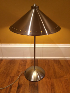 **REDUCED** Decorative Metal Lamp and Shade