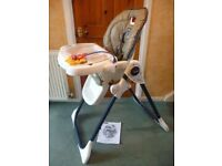 Unisex Adjustable Fisher Price High Chair