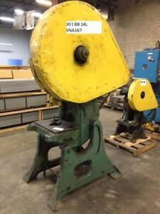 30 ton Brown & Boggs OBI mech. punch press, Mod. 14L, 575 volt/3/60 electrics