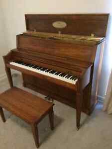 Upright Baldwin Piano - Value of $12,000- Excellent Condition