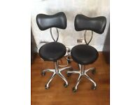Salon manicurist/therapist chairs