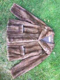 Mink fur jacket vintage pre-loved £120