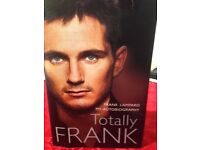 Signed Frank Lampard Autobiography - Totally Frank
