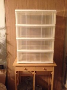 4 Drawer Storage-Hobby-Tools Utility Drawers THESE ARE HUGE!