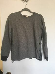 Grey JCREW Sweater - pick up only.