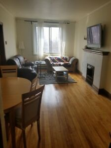 Sunny 4 1/2 Apartment for Rent near Villa Maria NDG