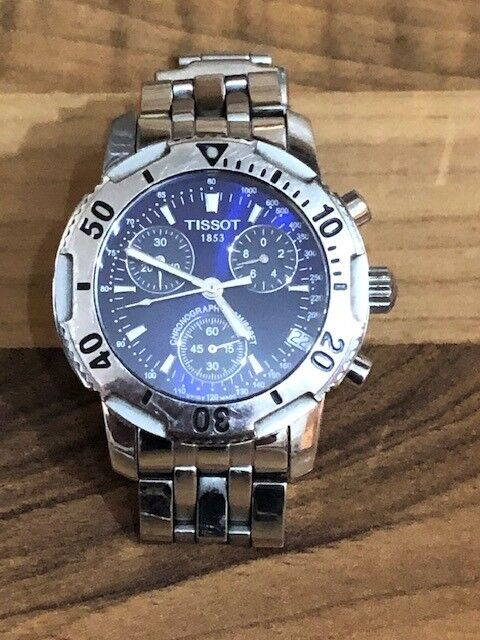 63c77190865 Mens Tissot Chronograph PRS200 - T362 462 .... Very good condition ...