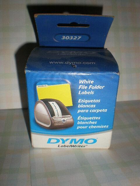 DYMO One Box White File Folder Labels 30327
