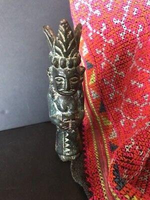 Old Sumatran Bronze / Brass Figure…beautiful collection / display piece
