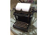 Rare Remington Standard Typewritter