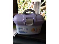 Genuine Johnson's Baby Skincare Essentials Box - Brand New & Sealed - Waterlooville