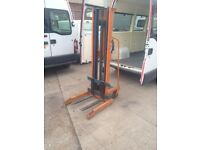 manual fork lift pallet lifter 500kg swl could use as a engine hoist