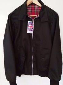 Classic Harrington Jacket - Brand New And Unworn - Retro Style Bomber Jacket