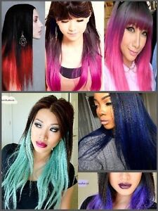 Colorful CLIP IN Hair extensions