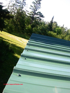 ISO Used Metal Roofing/siding