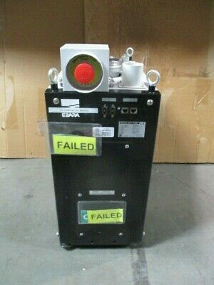 Ebara EV-S100N Dry Pump, DKF00480, Vacuum, EMB-EVS2, 200-220VAC, 50/60Hz, 101310