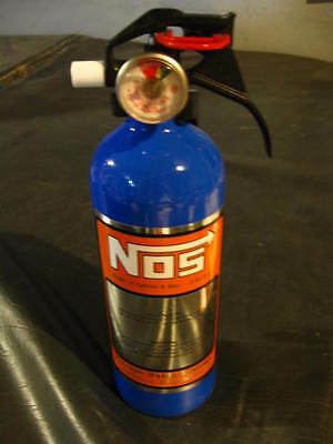 New Fire Extinguisher Nos Nitrous Bottle Decal Hot Rat Rod Car Show Pick Color