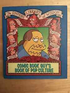 The Simpsons Library Of Wisdom Comic Book Guy's Book Of Pop Cult Edmonton Edmonton Area image 1