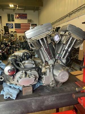 85 Harley-Davidson Electra Glide FLHT 80 CI ENGINE MOTOR TRANSMISSION CLUTCH
