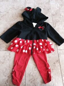 Adorable Disney Minnie Mouse 2 piece set, Size 12 months