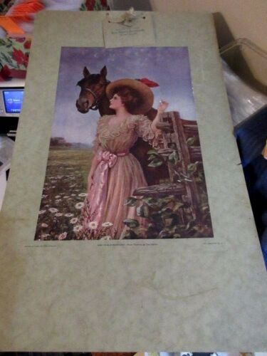 1908 Advertising Poster for Beery School in Horsemanship