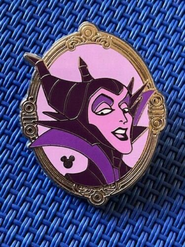 Disney DLR Hidden Mickey Magic Mirror Collection Completer Maleficent PWP Pin