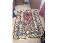 Hand made Persian wool rug