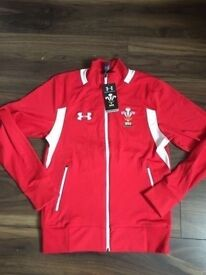 Brand new Wales Welsh under armour rugby jacket