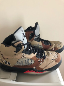 Air Jordan 5 retro SUPREME à vendre
