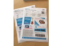 2x Emeli Sande Tickets , Standing for Friday 27th October £95 face value