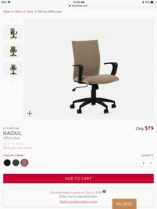 $75 - BRAND NEW STRUCTUBE OFFICE CHAIR
