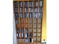 DVD storage - 2 towers (ex IKEA)