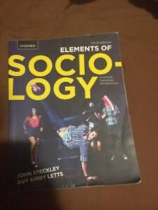 Elements of Sociology 3rd Ed by Steckley and Letts