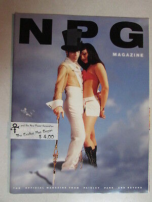 NPG THE OFFICIAL PRINCE MAGAZINE FROM PAISLEY PARK AND BEYOND 1995 UNKNOWN DATE