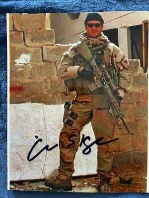 "CHRIS KYLE, ""AMERICAN SNIPER"", 8 x 10 Autographed Photo Reprint"