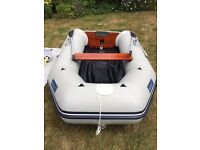 SEAGO 270 Inlatable Dinghy. As new, never been used and inflated for first time July 17