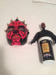Star Wars Talking Dark Maul Mask and collector Cup