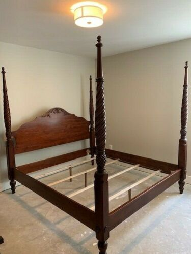 Ethan Allen British Classics King Montego Bed - 4 Poster Bed