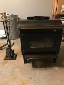 Nice wood stove for sale...ULC approved