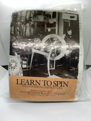 Ashford Handicrafts Learn To Spin and Assembling Instructions Kit New Zealand