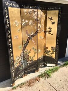 Oriental Gold Room Divider/Screen Art in Whitby