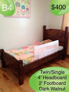 RUSTIC HANDMADE CUSTOM BEDS - TWIN/FULL/QUEEN/KING Kingston Kingston Area image 4