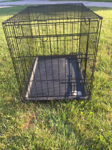 Black Metal Dog Cage