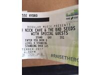 Nick Cave And The Bad Seeds at The Hydro Glasgow